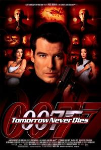 Tomorrow Never Dies - 27 x 40 Movie Poster - Style B