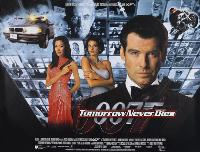 Tomorrow Never Dies - 30 x 40 Movie Poster UK - Style A