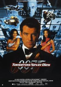 Tomorrow Never Dies - 27 x 40 Movie Poster - Style D