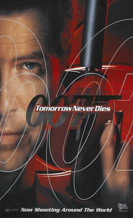 Tomorrow Never Dies - 27 x 40 Movie Poster - Style H
