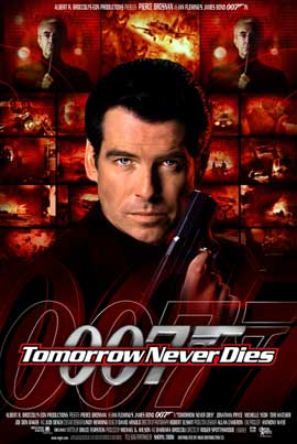 Tomorrow Never Dies - 11 x 17 Movie Poster - Style K