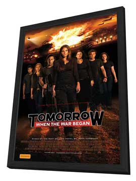 Tomorrow, When the War Began - 11 x 17 Movie Poster - Australian Style A - in Deluxe Wood Frame