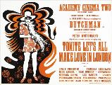 Tonight Let's All Make Love in London - 30 x 40 Movie Poster UK - Style A