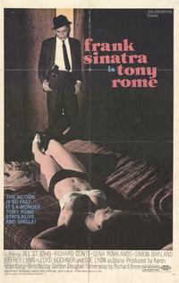 Tony Rome - 11 x 17 Movie Poster - Style A