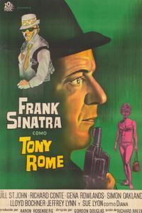 Tony Rome - 11 x 17 Movie Poster - Spanish Style A