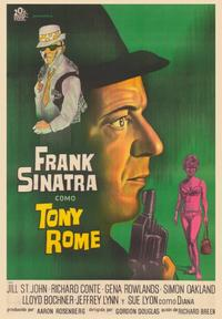 Tony Rome - 43 x 62 Poster - Foreign - Bus Shelter Style A
