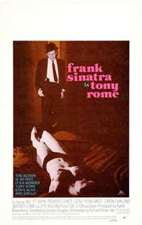 Tony Rome - 27 x 40 Movie Poster - Style C