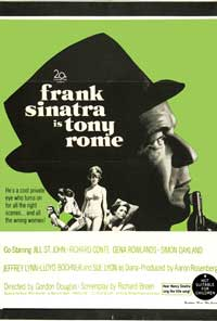 Tony Rome - 11 x 17 Movie Poster - Australian Style A