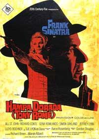 Tony Rome - 11 x 17 Movie Poster - Spanish Style B
