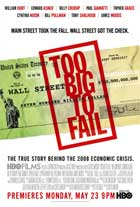 Too Big to Fail - 11 x 17 Movie Poster - Style A