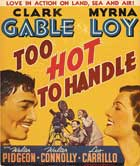 Too Hot to Handle - 11 x 17 Movie Poster - Style C