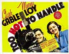 Too Hot to Handle - 11 x 17 Movie Poster - Style D