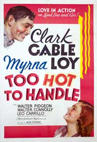 Too Hot to Handle - 27 x 40 Movie Poster - Style B