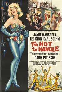 Too Hot to Handle - 11 x 17 Movie Poster - UK Style A
