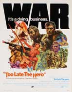 Too Late the Hero - 11 x 17 Movie Poster - Style C