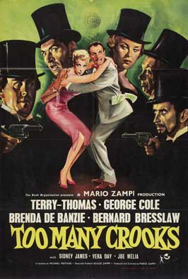 Too Many Crooks - 11 x 17 Movie Poster - Style A