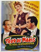 Too Many Husbands - 11 x 17 Movie Poster - Belgian Style A