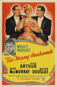 Too Many Husbands - 11 x 17 Movie Poster - Style A
