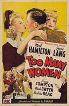 Too Many Women - 11 x 17 Movie Poster - Style A