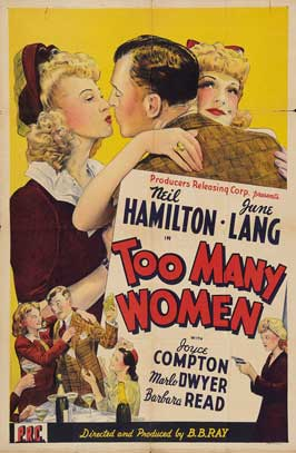 Too Many Women - 27 x 40 Movie Poster - Style A