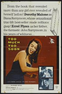 Too Much, Too Soon - 27 x 40 Movie Poster - Style A