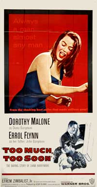 Too Much, Too Soon: The Daring Story of Diana Barrymore - 20 x 40 Movie Poster - Style A