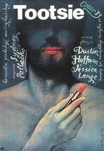 Tootsie - 27 x 40 Movie Poster - Polish Style A
