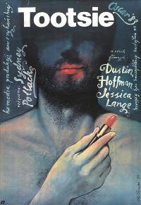 Tootsie - 11 x 17 Movie Poster - Polish Style A