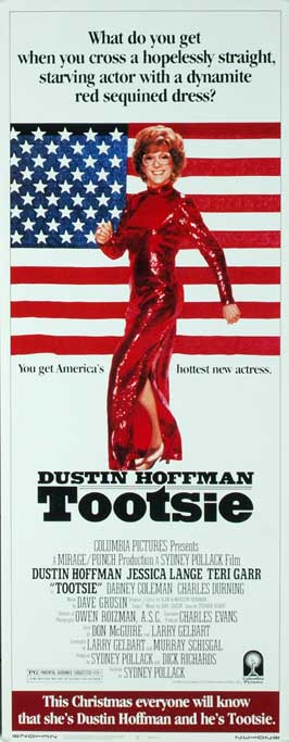 Tootsie - 14 x 36 Movie Poster - Insert Style A
