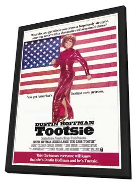 Tootsie - 11 x 17 Movie Poster - Style A - in Deluxe Wood Frame
