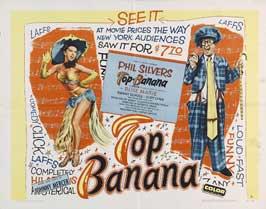 Top Banana - 22 x 28 Movie Poster - Half Sheet Style A