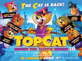 Top Cat - 30 x 40 Movie Poster UK - Style A