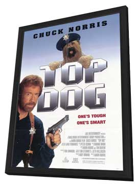 Top Dog - 11 x 17 Movie Poster - Style A - in Deluxe Wood Frame