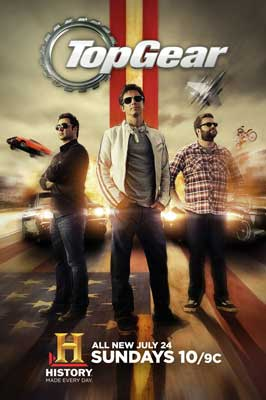 Top Gear USA (TV) - 11 x 17 Movie Poster - Style A