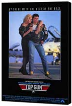 Top Gun - 11 x 17 Movie Poster - Style B - Museum Wrapped Canvas