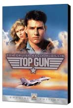 Top Gun - 11 x 17 Movie Poster - Style H - Museum Wrapped Canvas
