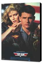 Top Gun - 27 x 40 Movie Poster - Style C - Museum Wrapped Canvas