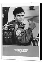 Top Gun - 27 x 40 Movie Poster - Style D - Museum Wrapped Canvas