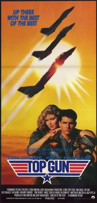 Top Gun - 11 x 17 Movie Poster - Australian Style A