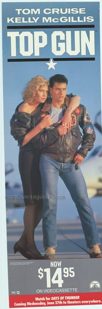 Top Gun - 12 x 38 Movie Poster
