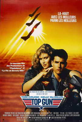 Top Gun - 27 x 40 Movie Poster - French Style A