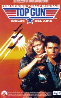 Top Gun - 43 x 62 Movie Poster - Bus Shelter Style B