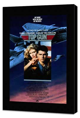 Top Gun - 27 x 40 Movie Poster - Style A - Museum Wrapped Canvas