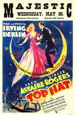 Top Hat - 11 x 17 Movie Poster - Style D
