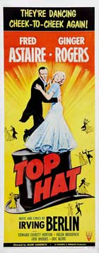 Top Hat - 14 x 36 Movie Poster - Insert Style A