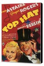 Top Hat - 27 x 40 Movie Poster - Style B - Museum Wrapped Canvas