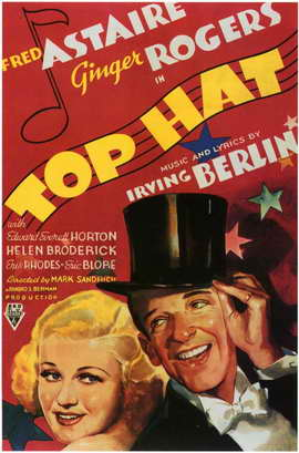 Top Hat - 11 x 17 Movie Poster - Style B