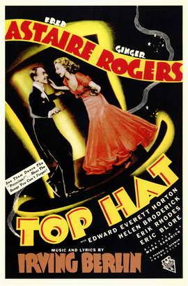 Top Hat - 11 x 17 Movie Poster - Style C
