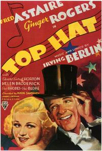 Top Hat - 27 x 40 Movie Poster - Style B