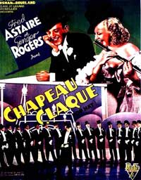 Top Hat - 11 x 17 Movie Poster - Belgian Style A